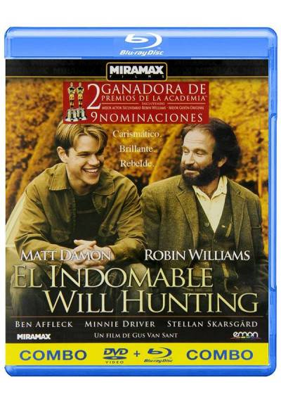 El Indomable Will Hunting (Blu-Ray + DVD)