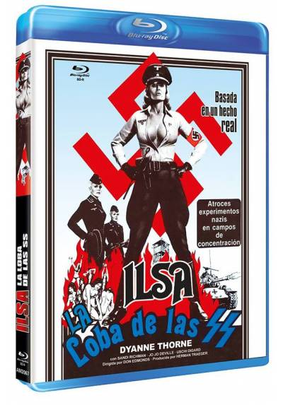 Ilsa, la loba de las SS (Blu-ray) (Bd-R) (Ilsa, She Wolf of the SS)