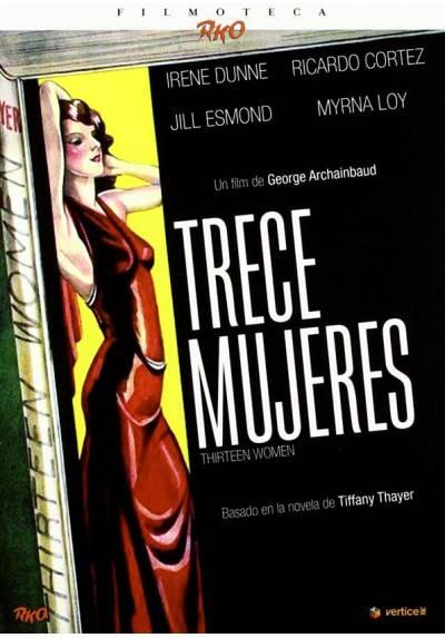 Filmoteca Rko: Trece mujeres (Edición Especial - Incluye Libreto Exclusivo 24 Páginas) (Thirteen Women)