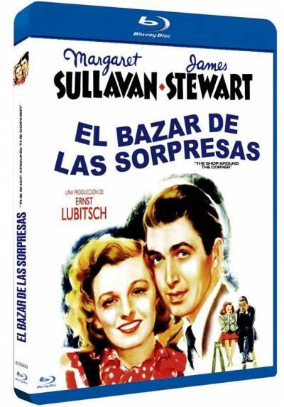 El bazar de las sorpresas (Blu-ray) (The Shop around the Corner)