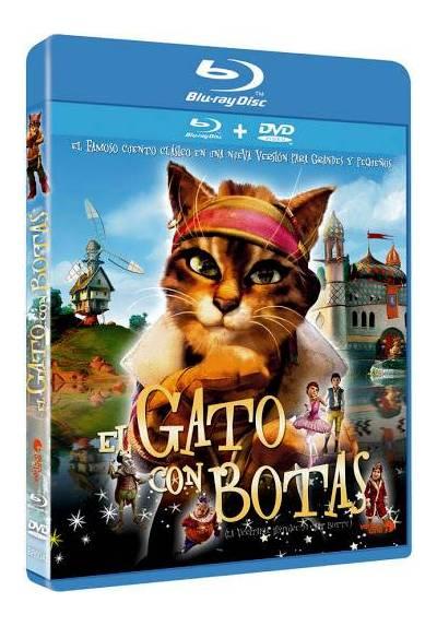 El Gato con botas (DVD + Blu-ray) (Puss in Boots)