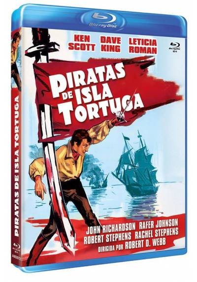 Piratas de Isla Tortuga (Blu-ray) (Bd-R) (Pirates of Tortuga)