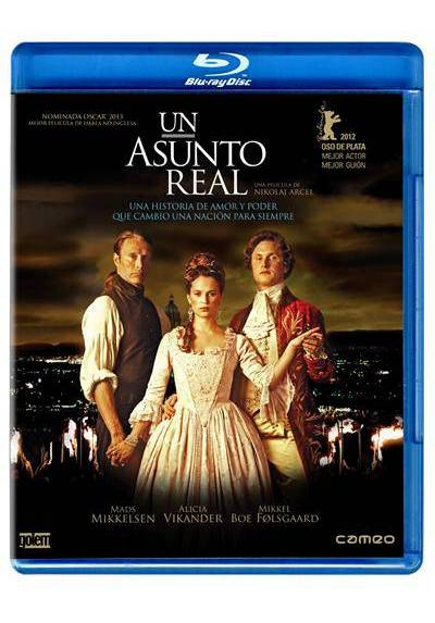 Un asunto real (Blu-Ray) (A Royal Affair) (En Kongelig Affære)