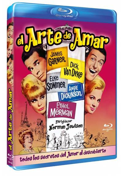 El arte de amar (Blu-ray) (Bd-R) (The Art of Love)