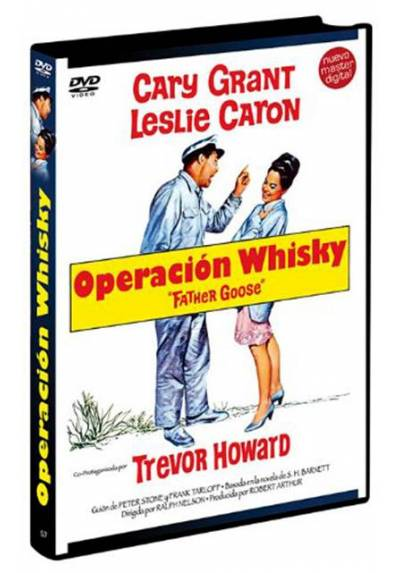 copy of Operacion Whisky (Blu-Ray) (Father Goose)