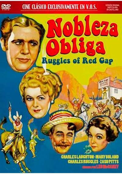 Nobleza obliga (V.O.S) (Ruggles of Red Gap)
