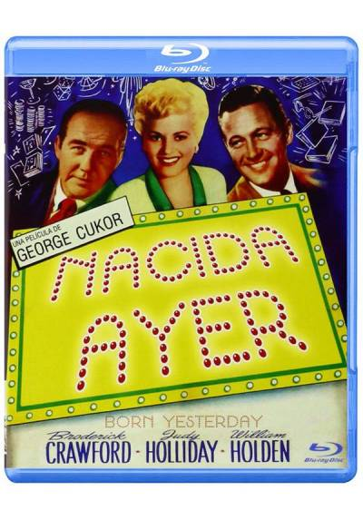 Nacida ayer (Blu-ray) (Born Yesterday)