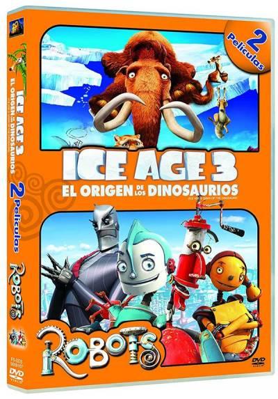 Pack Ice Age 3: El origen de los dinosaurios + Robots