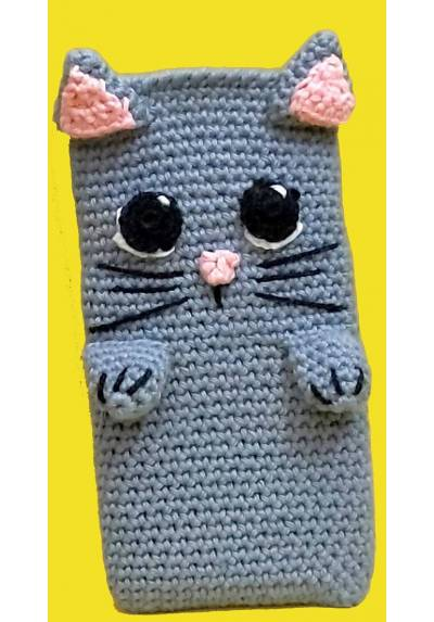 Gatito Gris Plomo - Funda de movil