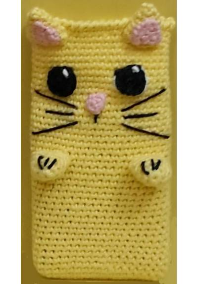Gatito Amarillo - Funda de movil