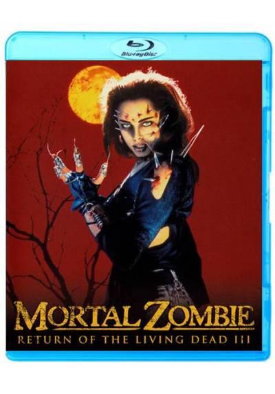 copy of Mortal Zombie (Blu-Ray + Dvd + Blu-Ray Extras + Libro) (Ed. Coleccionista) (Return Of The Living Dead III)