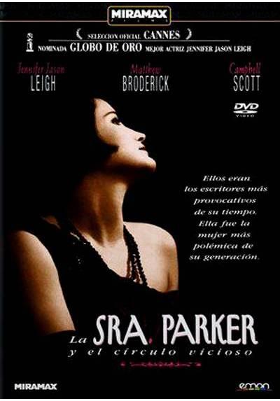 copy of La Sra. Parker Y El Circulo Vicioso (Mrs. Parker And The Vicious Circle) (Blu-Ray)