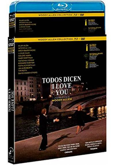 Todos dicen I love you (Blu-ray + DVD) (Everyone Says I Love You)