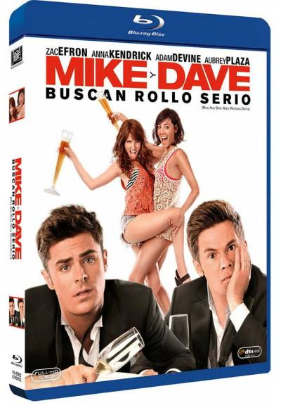 Mike y Dave buscan rollo serio (Blu-ray) (Mike and Dave Need Wedding Dates)