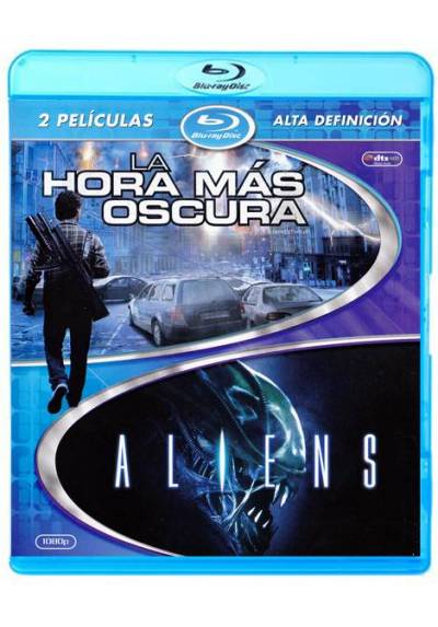 Pack La hora mas oscura / Aliens (Blu-ray)
