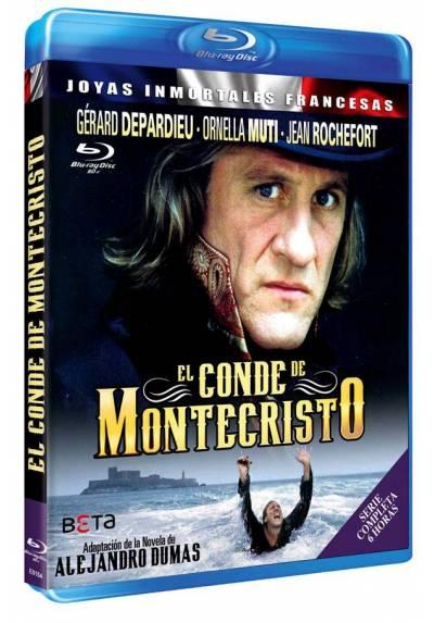 El Conde De Montecristo (Le Comte De Monte Cristo) (Blu-Ray) (Bd-R) (Serie Completa)