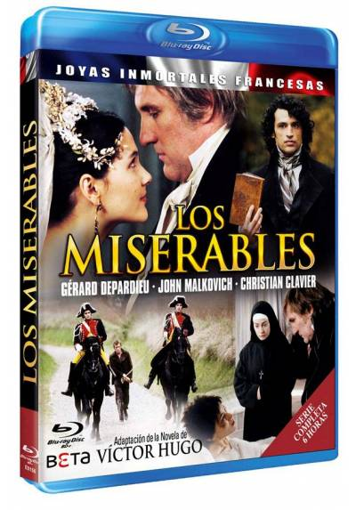 copy of Los Miserables (2000) (Les Miserables) (Blu-Ray)