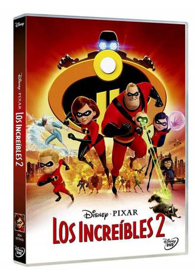 Los Increíbles 2 indomable (The Incredibles 2)