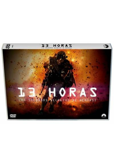 13 Horas: Los soldados secretos de Bengasi (13 Hours: The Secret Soldiers of Benghazi) (Ed. Horizontal)