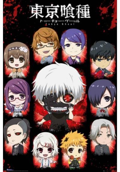 Poster Tokyo Ghoul - Chibi (POSTER 61 x 91,5)