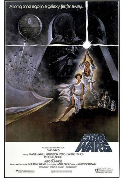 Poster La Guerra de las Galaxias - Star Wars  (POSTER 61 x 91,5)