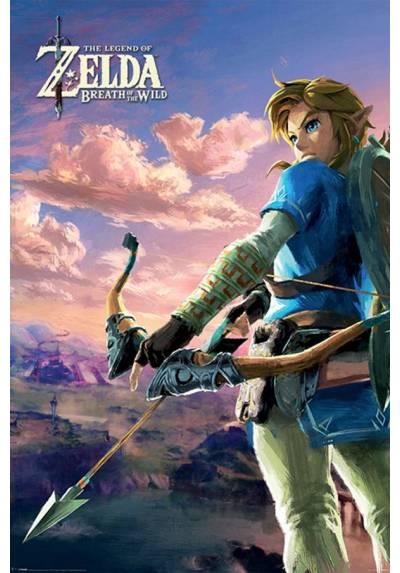 Poster Zelda Breath Of The Wild (Aliento de lo salvaje) (POSTER 61 x 91,5)