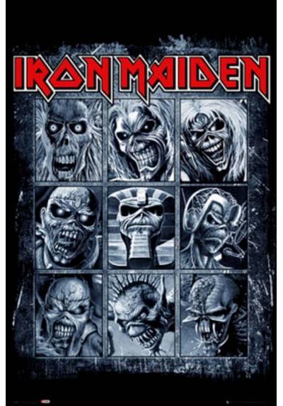 Poster Iron Maiden - Eddies (POSTER 61 x 91,5)