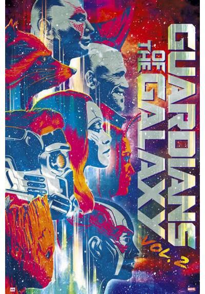 Poster Marvel Guardianes de la Galaxia Vol.2 - Personajes (POSTER 61 x 91,5)
