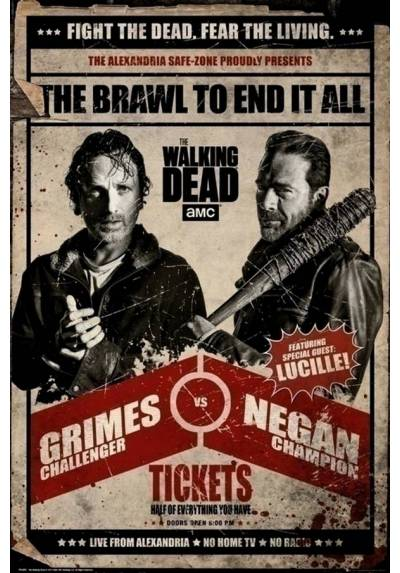 Poster The Walking Dead Fight (POSTER 61 x 91,5)