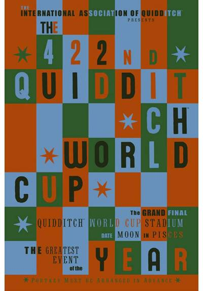 Poster Harry Potter - Copa Mundial de Quidditch (Quidditch Word Cup) (POSTER 61 x 91,5)