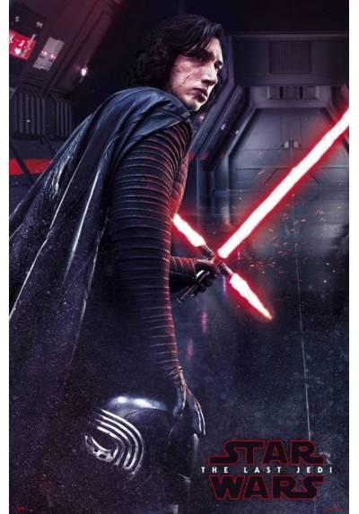 Poster Star Wars VIII: Los Ultimos Jedy - Kilo Ren (POSTER 61 x 91,5)