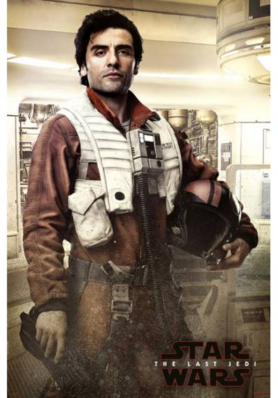 Poster Star Wars VIII: Los Ultimos Jedy - Listo para la batalla Poe Dameron (Poe Battle Ready) (POSTER 61 x 91,5)