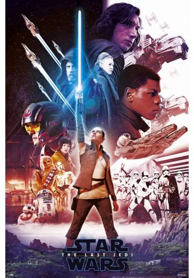 Poster Star Wars VIII - Sable Azul (Blue Saber) (POSTER 61 x 91,5)