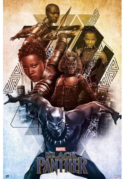 Poster Marvel Black Panther (Pantera Negra) (POSTER 61 x 91,5)