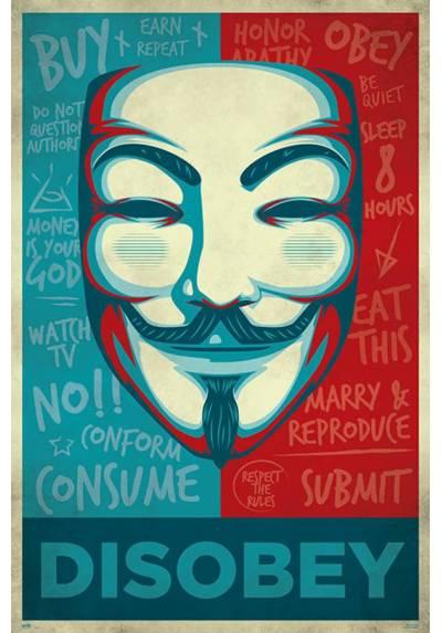 Poster Desobedecer (Disobey) (POSTER 61 x 91,5)