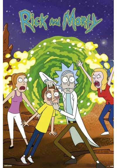 Poster Rick y Morty (Rick and Morty) (POSTER 61 x 91,5)