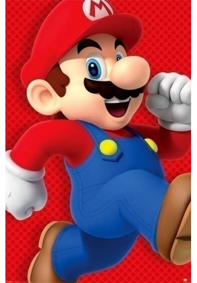 Poster Super Mario Corriendo (Super Mario Run) (POSTER 61 x 91,5)