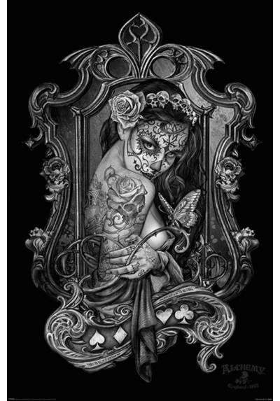 Poster Alquimia Paracelco - Viudas Maleza(Alchemy Paracelcus - Widows weeds) (POSTER 61 x 91,5)
