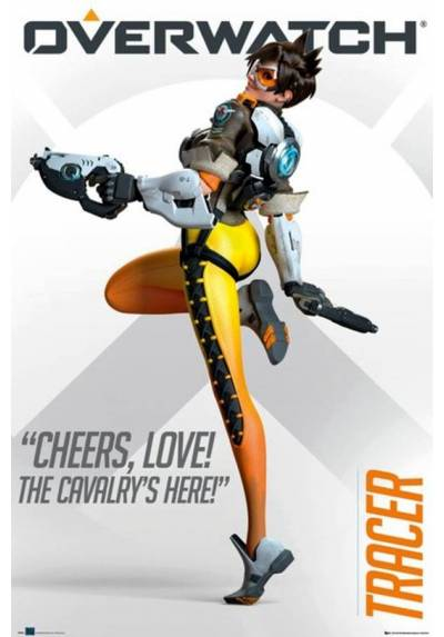 Poster Overwatch Tracer Cheers Love (POSTER 61 x 91,5)