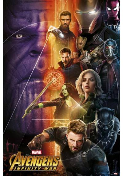 Poster Los Vengadores: Infinity War 1 (POSTER 61 x 91,5)