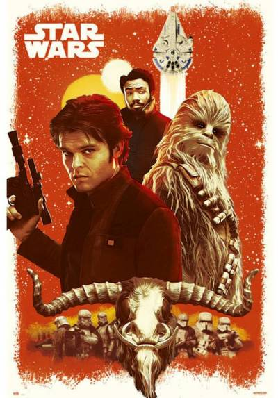 Poster Star Wars: Solo Viejos Amigos  (Star Wars: Solo Old Friends) (POSTER 61 x 91,5)