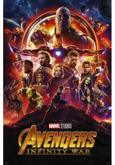 Poster Marvel Los Vengadores: Infinity War - One Sheet (POSTER 61 x 91,5)
