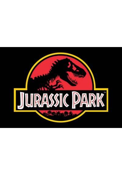 Poster Horizontal Parque Jurasico - Logo Clasico (Jurassic park Classic Logo) (POSTER 91,5 x 61)