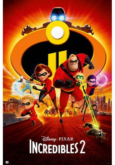 Poster Disney Los Increibles 2 (POSTER 61 x 91,5)