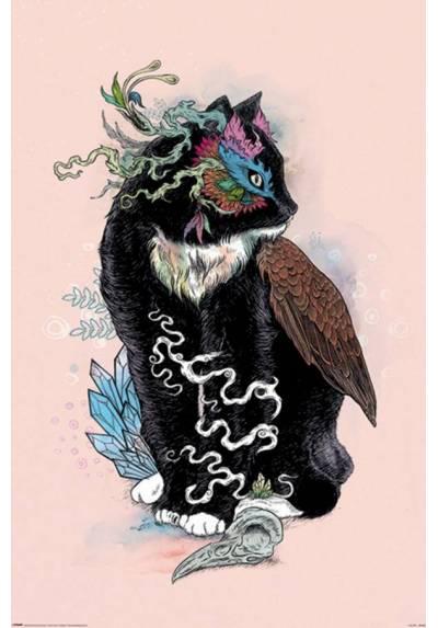Poster Mat Miller - Gato mágico negro (Mat Miller - Black Magic) (POSTER 61 x 91,5)