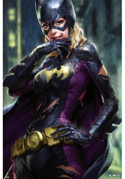 Poster DC Chica Murcielago bajo la lluvia (Batgirl Rain) (POSTER 61 x 91,5)