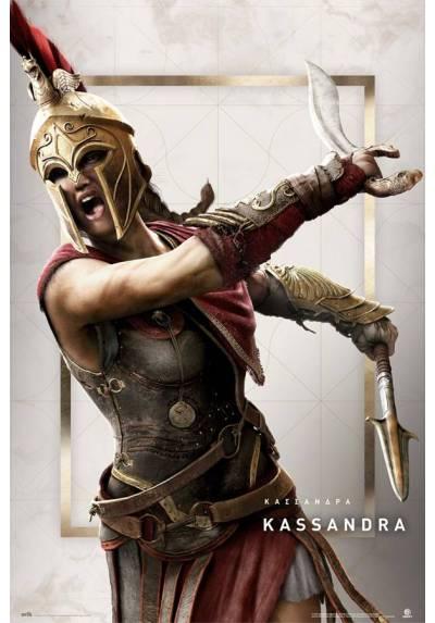 Poster Assassin's Creed: Odyssey Kassandra (POSTER 61 x 91,5)