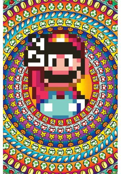 Poster Super Mario Power (POSTER 61 x 91,5)
