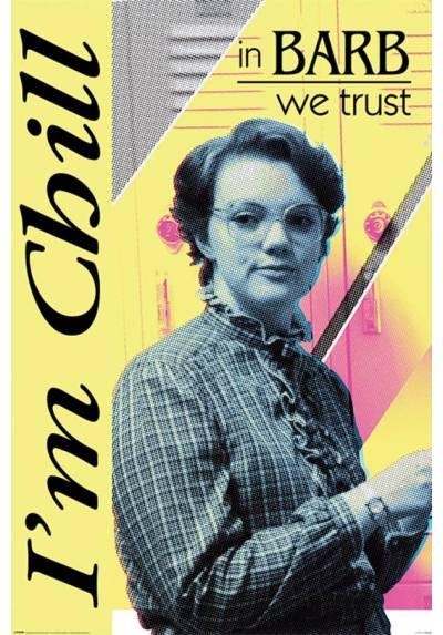 Poster Stranger Things - En Barb Confiamos (Stranger Things - In Barb We Trust) (POSTER 61 x 91,5)