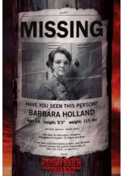 Poster Stranger Things - Barb Desaparecida (Stranger Things - Barb Missing) (POSTER 61 x 91,5)